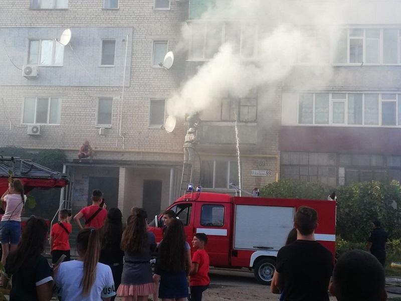 В Олександрії сталася пожежа в багатоповерхівці (ФОТО)