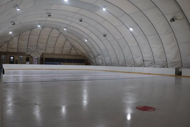 В Олександрії розпочинає свою роботу льодова арена