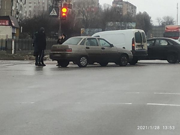 На перехресті в Олександрії сталася ДТП