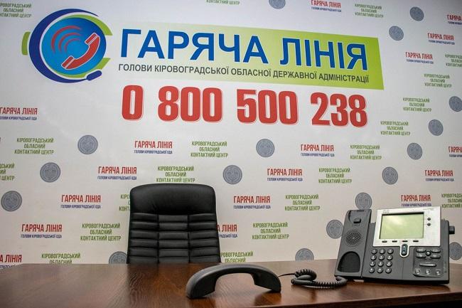 Жителі Олександрії дзвонили на обласну «гарячу лінію» 4196 раз