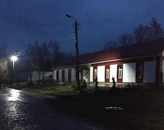У лікарні Новопразької ОТГ відновили зовнішнє освітлення