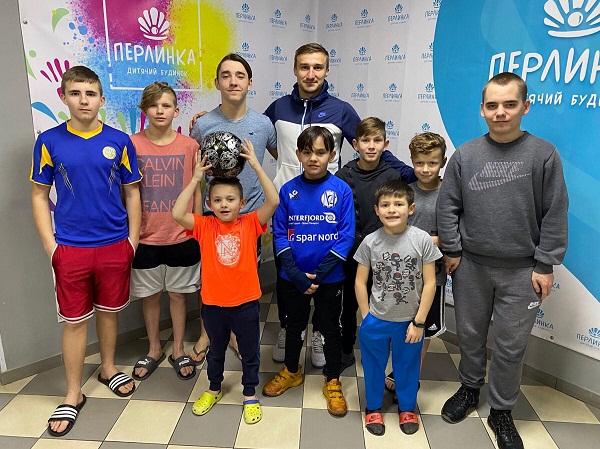 Гравець «Олександрії» відвідав дитячий будинок