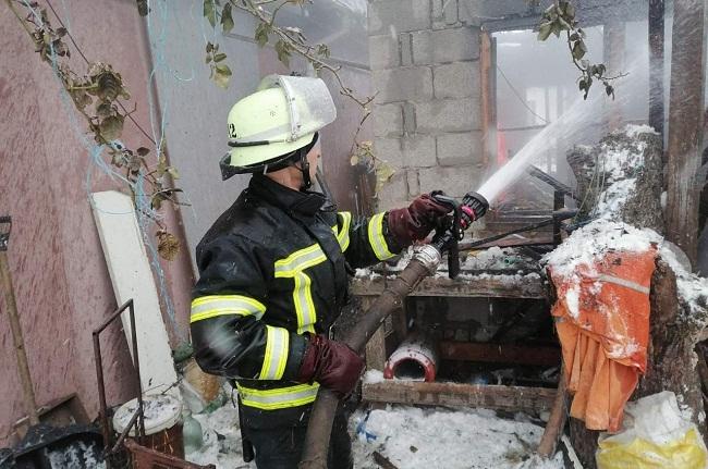 На Олександрійщині сталося 3 пожежі, одна людина отримала опіки