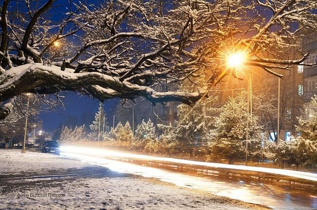 Казкове місто: зимова Олександрія