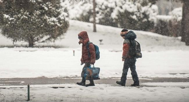 Через негоду понад 6 тисяч учнів області не потрапили до школи