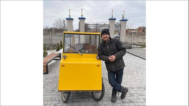 Умілець з Олександрії зробив електромобіль