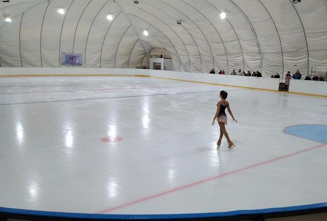 Льодова арена в Олександрії прийме перші змагання