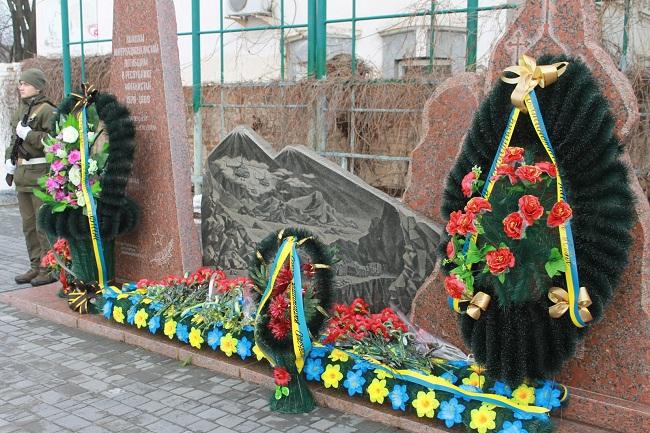 Жителі Олександрії вшанують воїнів-інтернаціоналістів