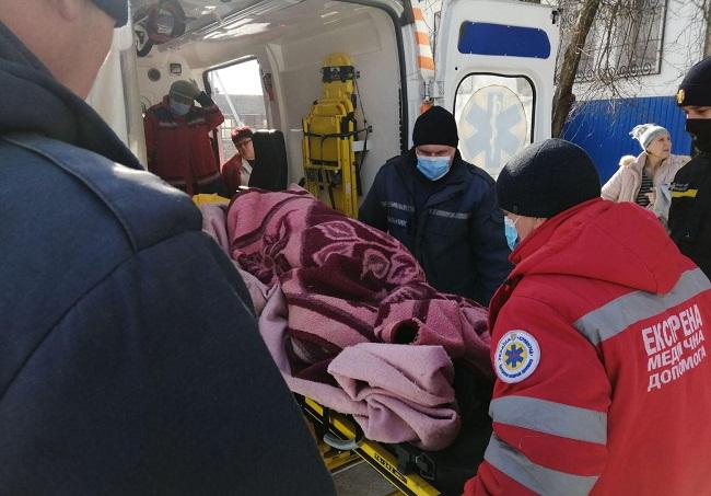 Олександрійські рятувальники врятували 80-річну бабусю