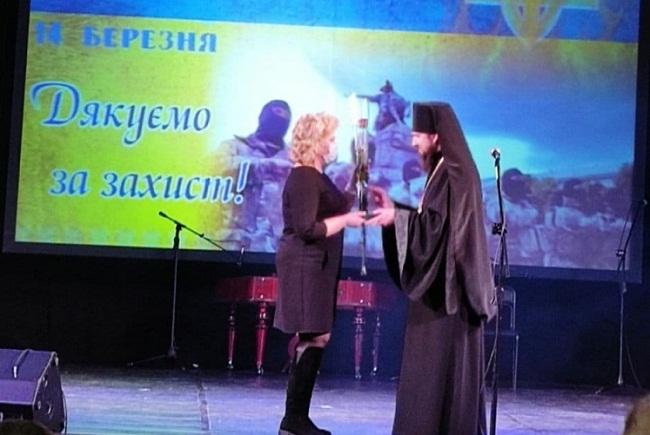 Волонтерка Ірина Кабанова отримала відзнаку