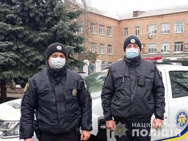 Поліцейські Новопразької громади врятували чоловіка