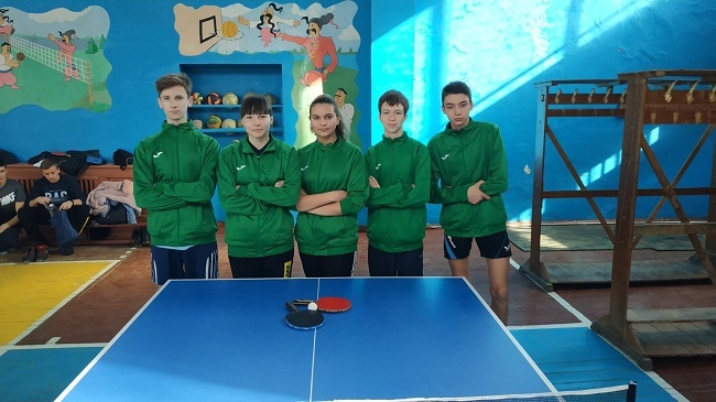 Олександрійські школярі- призери обласних змагань з настільного тенісу
