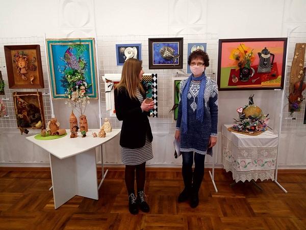 «Друге дихання»: олександрійців запрошують на персональну виставку Тетяни Усенко
