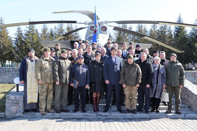 В Олександрії відзначили День Національної гвардії України