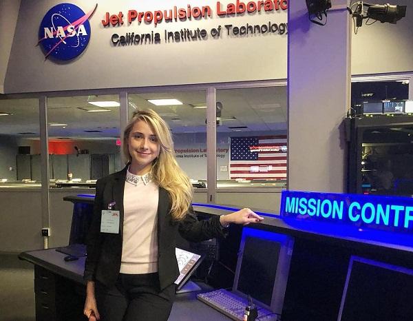 Випускниця кропивницького вишу стала працівником NASA