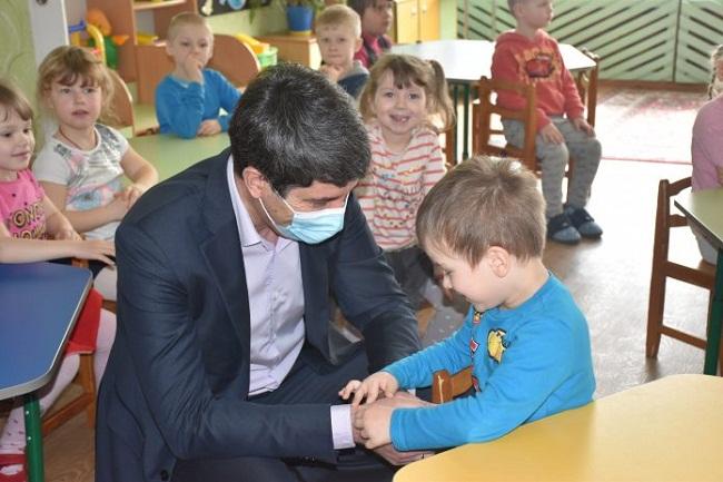 Сергій Кузьменко відвідав два навчальні заклади Олександрії