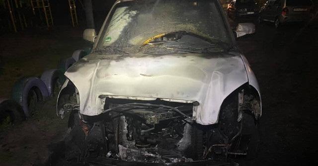 У дружини депутата Олександрійської районної ради згорів автомобіль