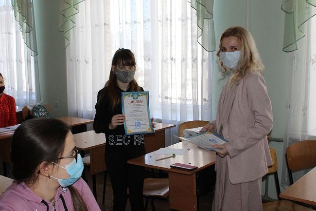 Школярка із Новопразької громади – переможниця міжнародного конкурсу