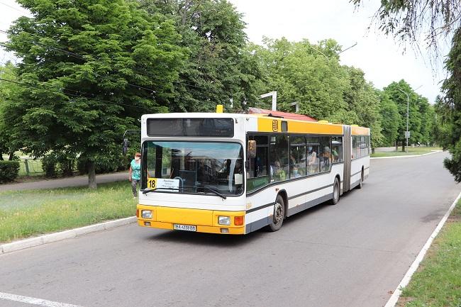 Додаткові вечірні рейси на автобусних маршрутах до Дня міста
