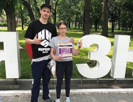 Олександрійські брейк-дансери зайняли призові місця на Обласному конкурсі