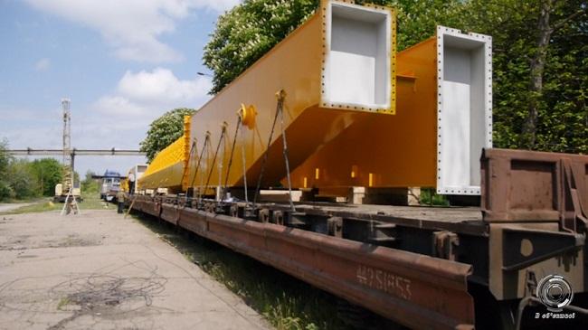 Олександрійський кран-велетень готовий до відправки