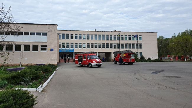 Учнів Олександрійського колегіуму терміново евакуювали
