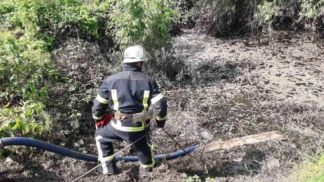 В Олександрії рятувальники відкачали стічні води