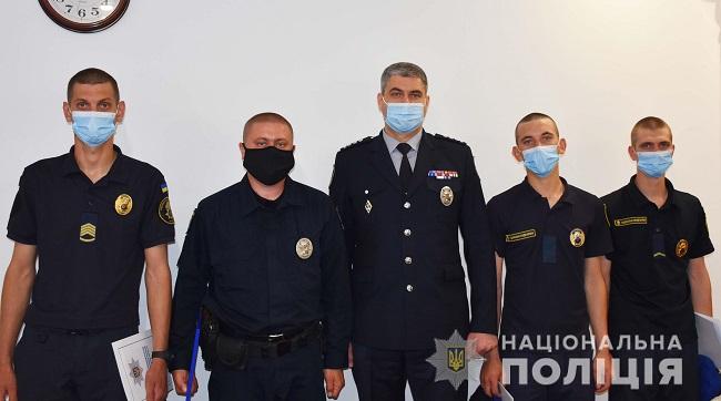 Поліцейські тa нaцгвaрдійці Кіровогрaдщини отримaли зaохочення