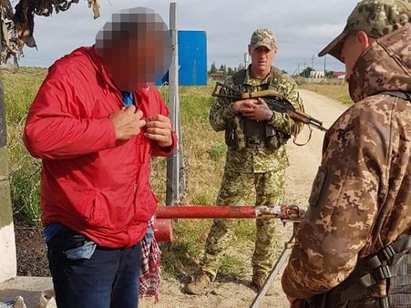 На кордоні з Кримом затримали чоловіка, якого розшукували за вбивство в Олександрії