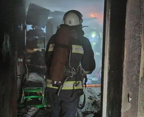 В Олександрії під час пожежі загинув пенсіонер