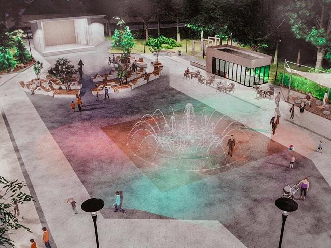 З'явився план реконструкції літнього театру та фонтану (ФОТО)