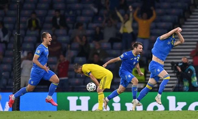Україна історично вийшла в 1/4 фіналу Євро-2020