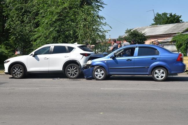 Аварія на вулиці Братській
