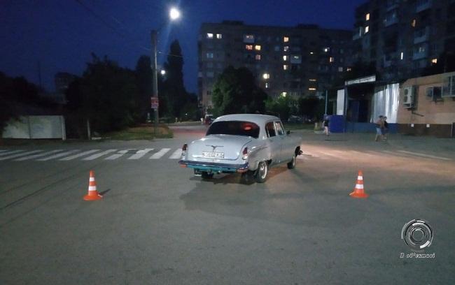 Раритетний автомобіль потрапив у ДТП в Олександрії