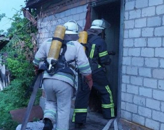 В Олександрійському районі під час пожежі загинув чоловік