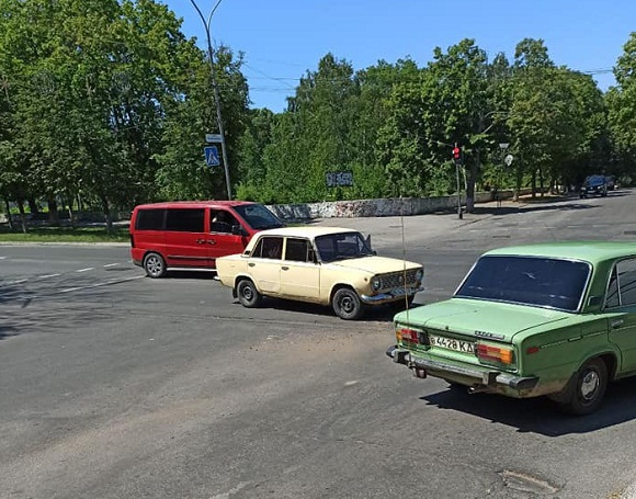 Чергова аварія на перехресті в Олександрії
