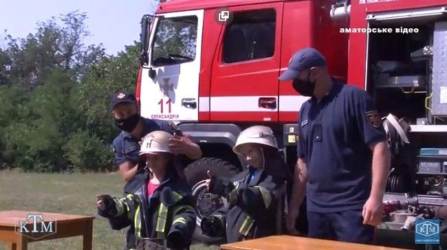 """""""Дружній"""" візит рятувальників (ВІДЕО)"""