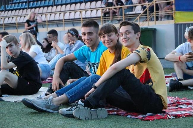 Як Олександрія вболівала за збірну України (ФОТО)