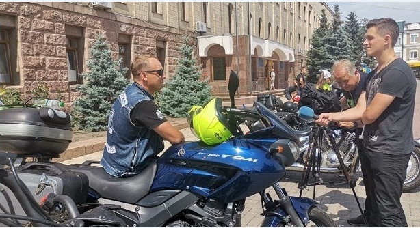 Пів сотні байкерів з усієї України з'їхалися до Кропивницького
