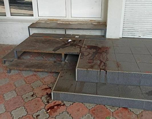 Що сталося біля відділення банку в Олександрії ?