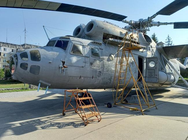 Розпочався ремонт вертольоту Мі – 6А