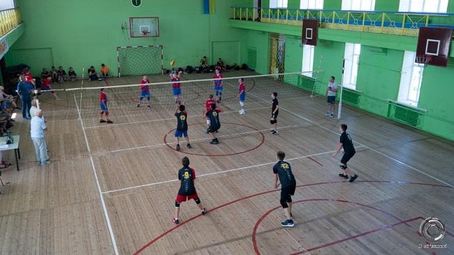 В Олександрії змагалися волейболісти
