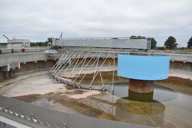 В Олександрії за понад 10 мільйонів реконструювали каналізаційну систему