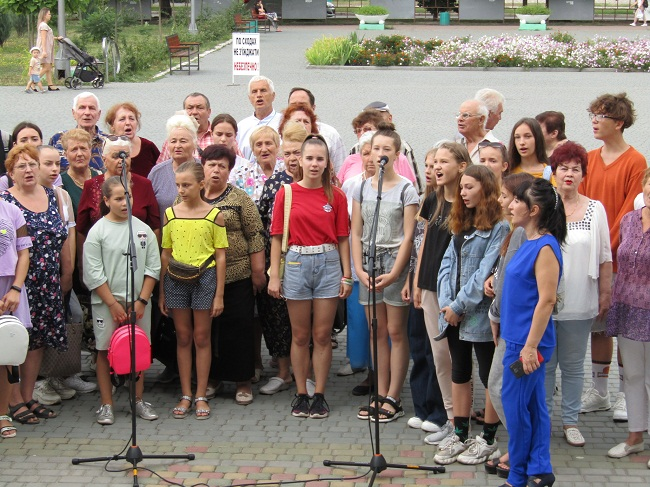В Олександрії відбулася чергова репетиція до встановлення рекорду України