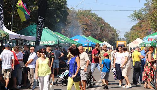 Фестиваль вуличної їжі пройшов в Олександрії
