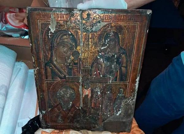 Із Кіровоградщини до РФ намагалися вивезти старовинну ікону 16 століття