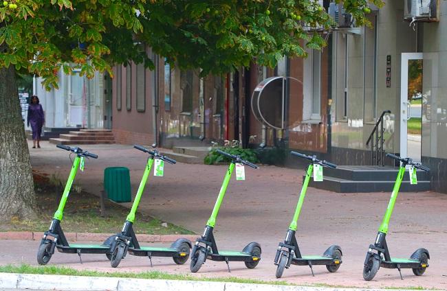 Зелений транспорт міста Олександрії