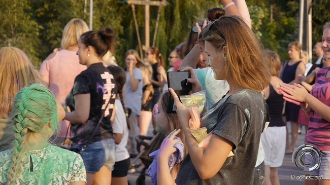 В Олександрії пройшло свято фарб «Холі-Фест»