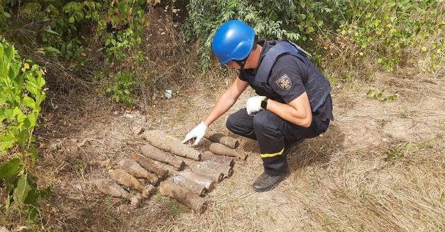 В Олександрійському районі знайшли 16 боєприпасів часів Другої світової