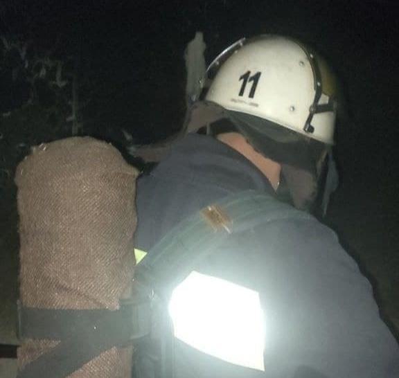 В Олександрії під час пожежі врятували двох жінок